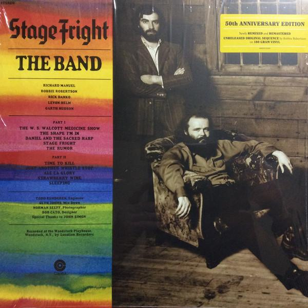 The Band - Stage Fright (Limited Edition, Reissue, Remastered)Vinyl