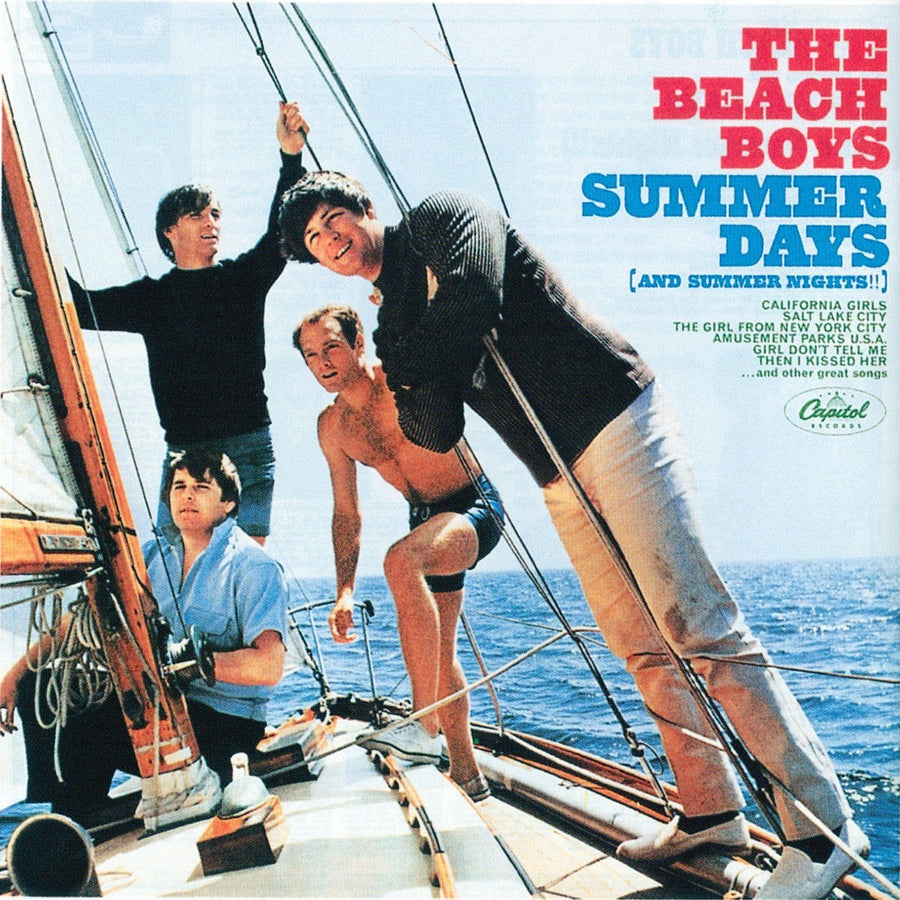 The Beach Boys - Summer Days (And Summer Nights!!) (Reissue, Mono)Vinyl