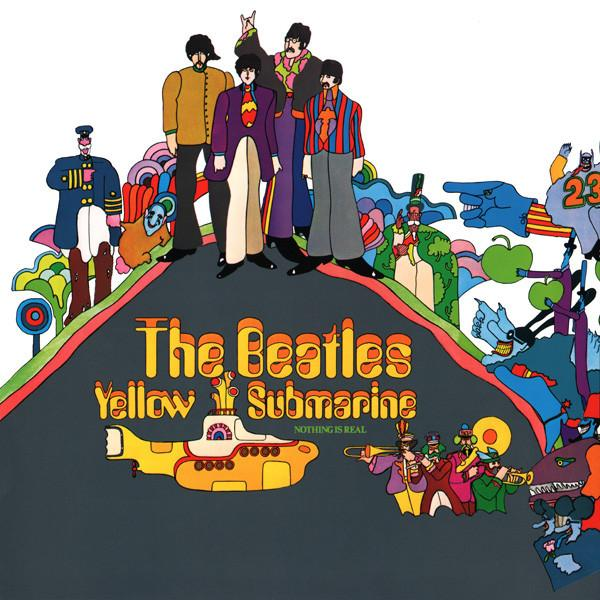 The Beatles - Yellow Submarine (Reissue, Remastered, Stereo)Vinyl