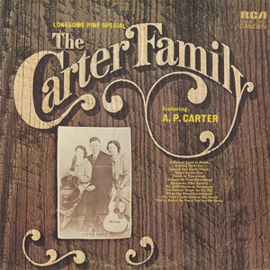 The Carter Family - Lonesome Pine Special (LP, Comp, Mono, RM, Used)Used Records