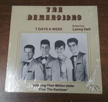 The Demensions - 7 Days A Week (LP, Used)Used Records