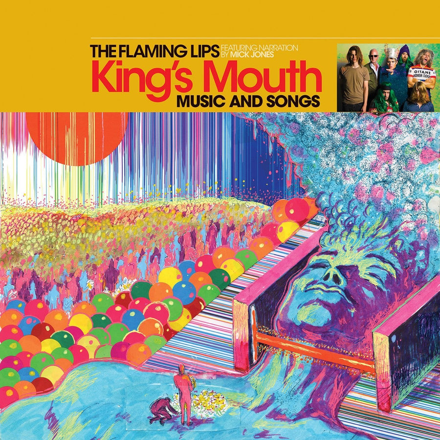 The Flaming Lips Featuring Narration By Mick Jones - King's Mouth (Music And Songs)Vinyl