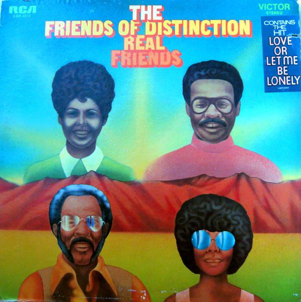 The Friends Of Distinction - Real Friends (LP, Album, Used)Used Records