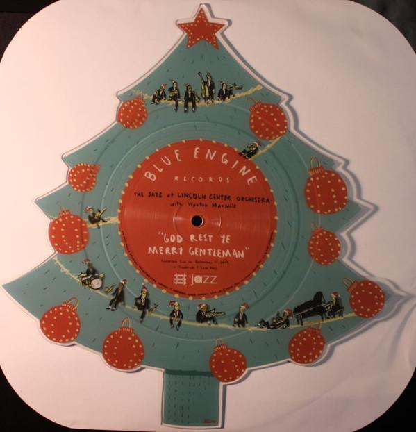 The Jazz At Lincoln Center Orchestra With Wynton Marsalis - God Rest Ye Merry Gentleman / Little Drummer Boy (Limited Edition, Picture Disc)Vinyl