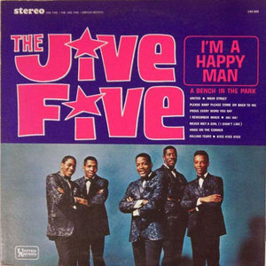 The Jive Five - I'm A Happy Man (LP, Album, RE, Used)Used Records