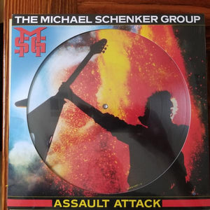 The Michael Schenker Group - Assault Attack (Limited Edition, Picture Disc)Vinyl