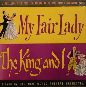 The New World Theatre Orchestra - My Fair Lady / The King And I (LP, Used)Used Records