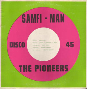 "The Pioneers - Samfi Man (12"", Single, Used)Used Records"