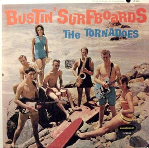 The Tornadoes - Bustin' Surfboards (LP, Album, Mono, RE, Ora, Used)Used Records