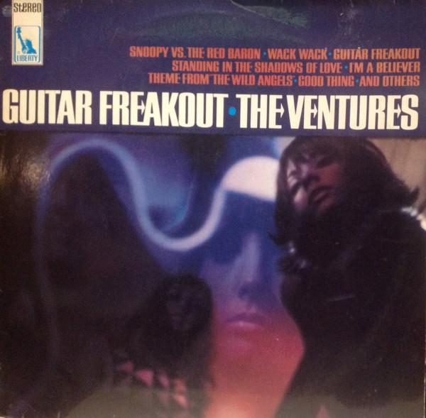 The Ventures - Guitar Freakout (LP, Album, Used)Used Records