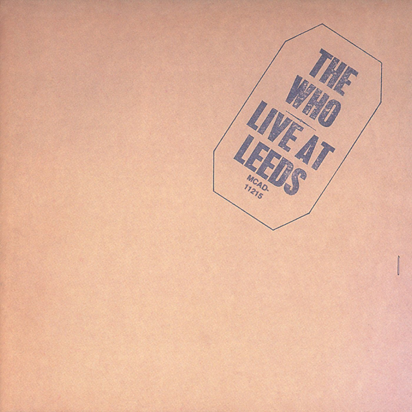 The Who - Live At Leeds (Reissue, Remastered)Vinyl