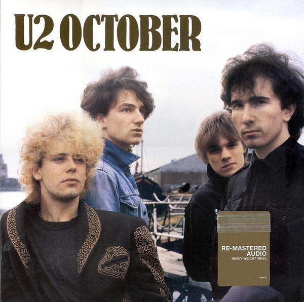 U2 - October (Reissue, Remastered)Vinyl