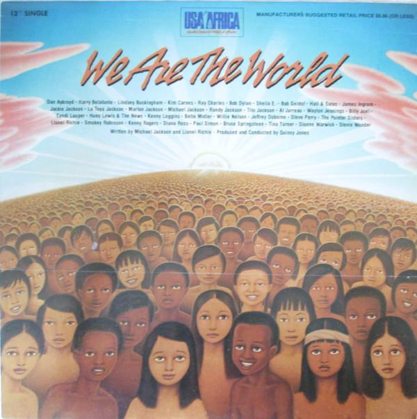 "USA For Africa - We Are The World (12"", Single, Used)Used Records"
