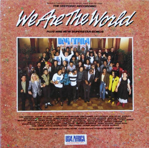 USA For Africa - We Are The World (LP, Album, Used)Used Records