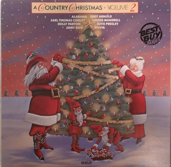 Various - A Country Christmas, Volume 2 (LP, Comp, Used)Used Records