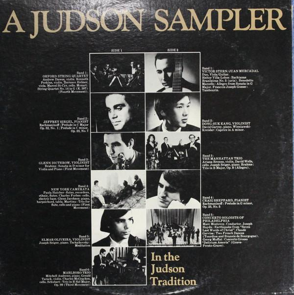 Various - A Judson Sampler (In The Judson Tradition) (LP, Promo, Used)Used Records