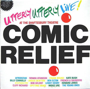 Various - Comic Relief Presents Utterly Utterly Live (LP, Used)Used Records