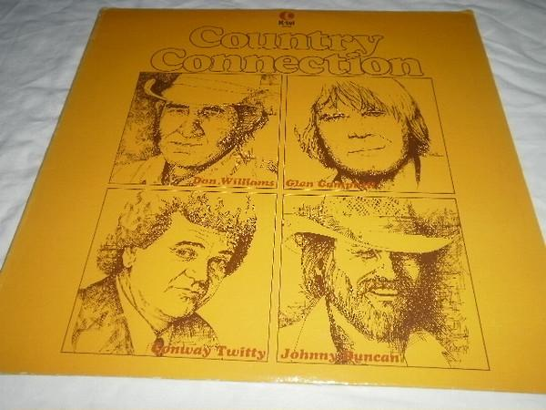 Various - Country Connection (LP, Comp, Used)Used Records