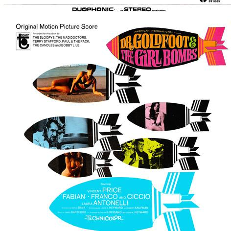 Various - Dr. Goldfoot & The Girl Bombs (Original Motion Picture Score) (LP, Used)Used Records