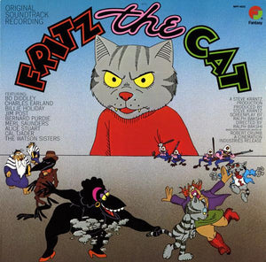 Various - Fritz The Cat (Original Soundtrack Recording) (Reissue)Vinyl