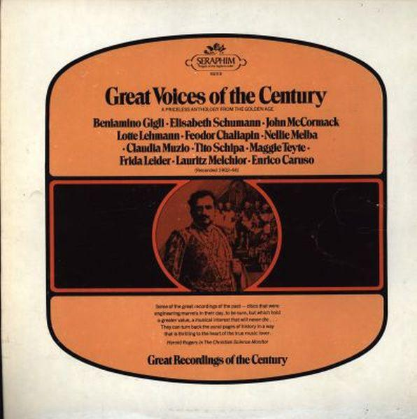 Various - Great Voices Of The Century (LP, Comp, Used)Used Records