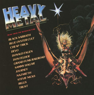 Various - Heavy Metal - Music From The Motion Picture (2LP, Reissue, OST)Vinyl