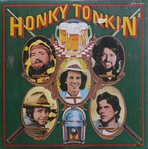 Various - Honky Tonkin' (LP, Comp, Used)Used Records