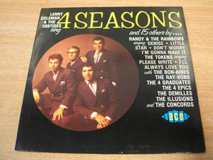 Various - Lenny Coleman & The Ebbtides Sing 4 Seasons And 15 Others By ... (LP, Comp, Mono, Used)Used Records