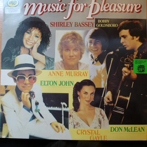 Various - Music For Pleasure (LP, Comp, Used)Used Records