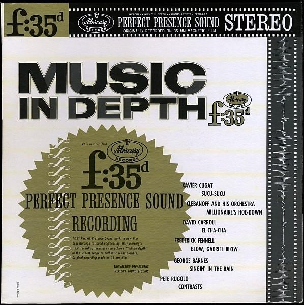 Various - Music In Depth F:35d (LP, Comp, Used)Used Records