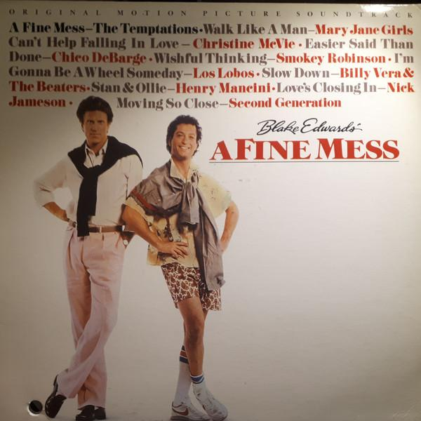"Various - Original Motion Picture Soundtrack ""A Fine Mess"" (LP, Comp, Used)Used Records"