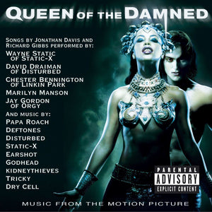 Various - Queen Of The Damned (Music From The Motion Picture) (2LP, Single Sided, Etched, Limited Edition, Reissue)Vinyl