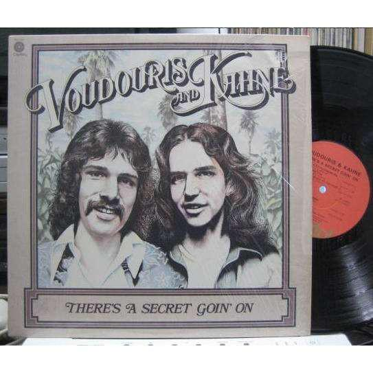 Voudouris & Kahne - There's A Secret Goin' On (LP, Used)Used Records