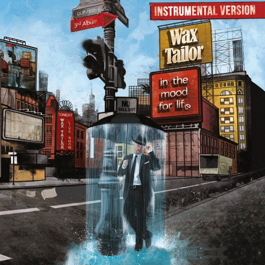 Wax Tailor - In The Mood For Life (Instrumental Version) (2LP)Vinyl
