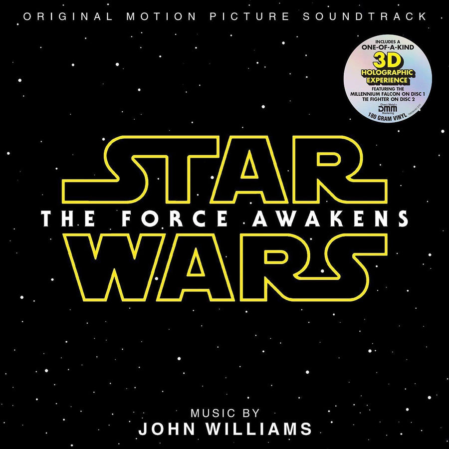 Williams, John - Star Wars: The Force Awakens (Soundtrack 2LP, 180 gram, Hologram)Vinyl
