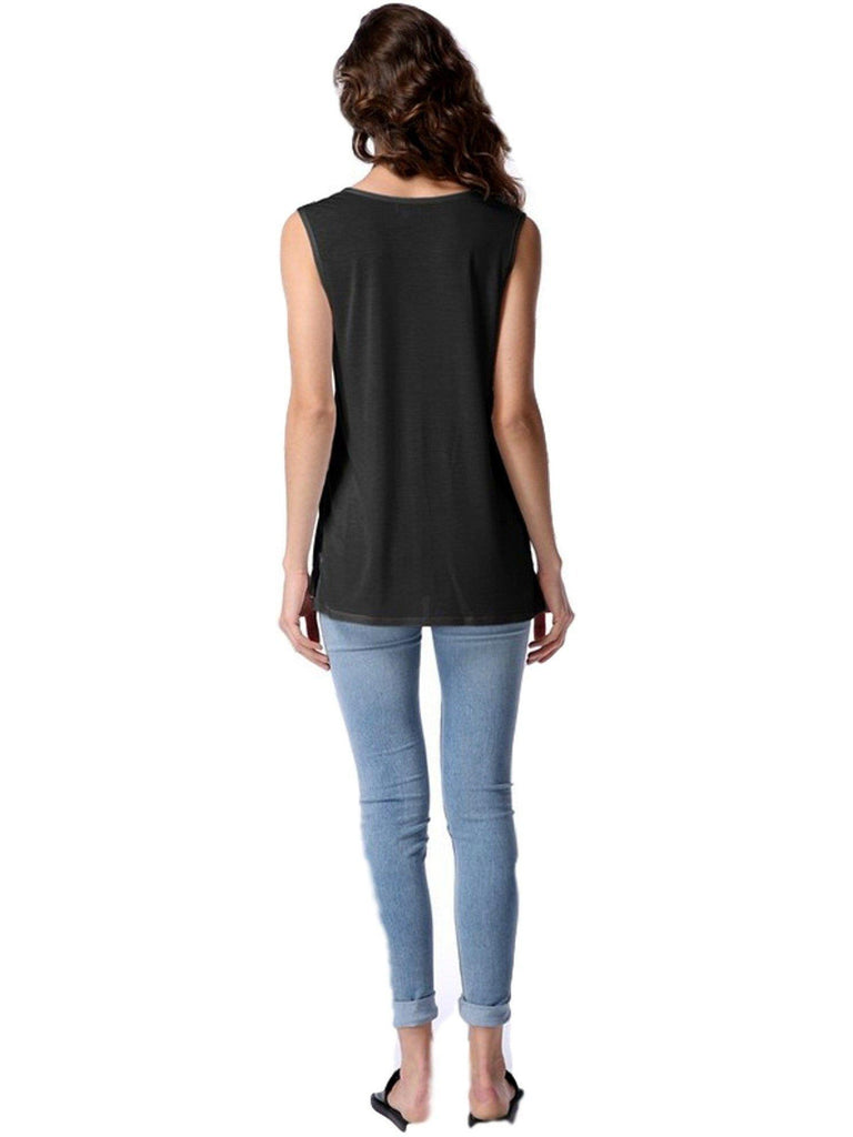 Authentic Piko Lighter Weight Tank Top, Black-Piko-PIko Fashion-Chic Boutique and Gift Emporium