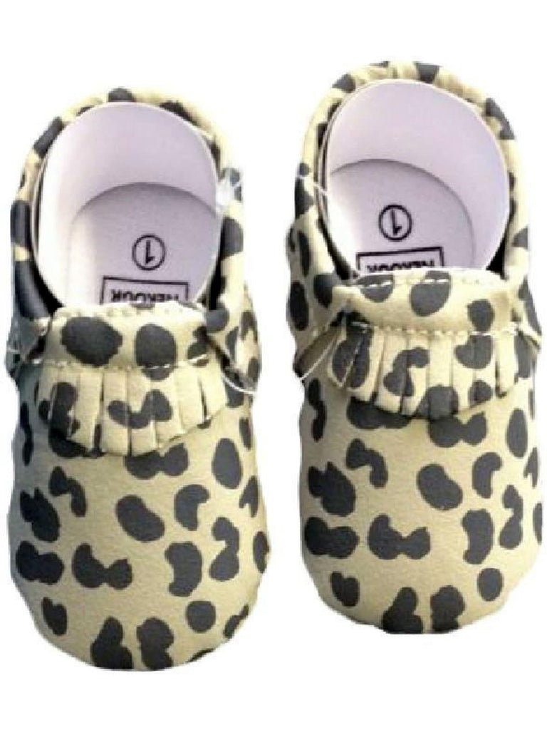 Baby Leather Moccasins, Leopard-BABY SHOES-Candy-12-18 Mth-Leopard-Chic Boutique and Gift Emporium