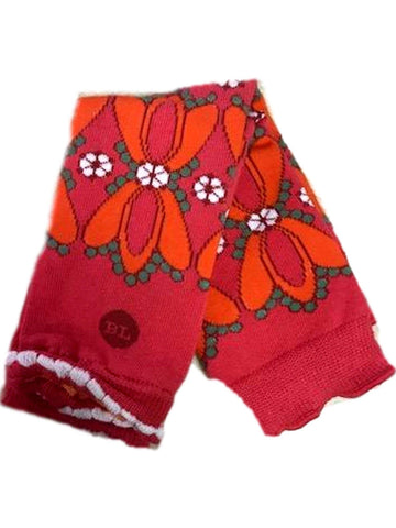 Baby Legs-Gazebo legwarmers, Red-Daisy-BABY LEGS-Baby Legs-OS-Red Multi-Chic Boutique and Gift Emporium