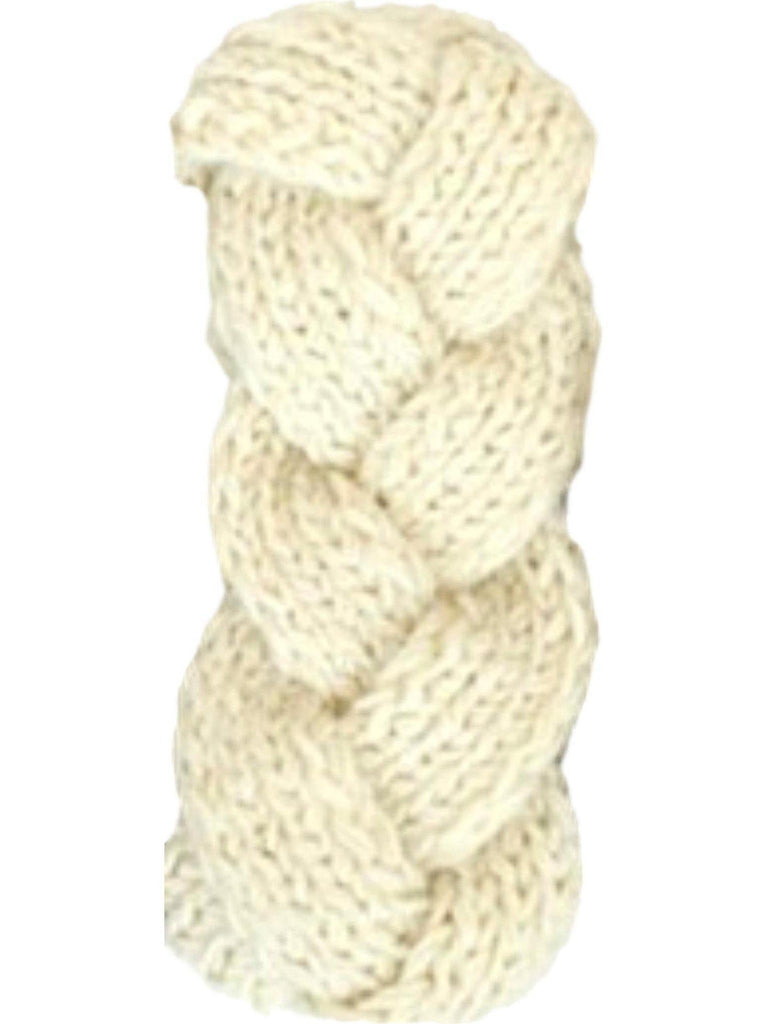 Braided Sweater Headband, Ivory-LOVE YOUR HAIR-Mark Ashton-OS-Ivory-Chic Boutique and Gift Emporium