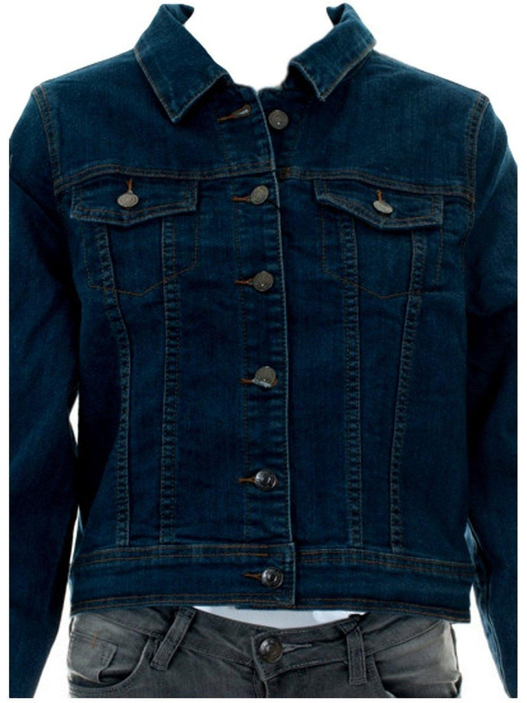 Curvy Luxurious Denim Jacket-Flash Sale-Cube-Chic Boutique and Gift Emporium
