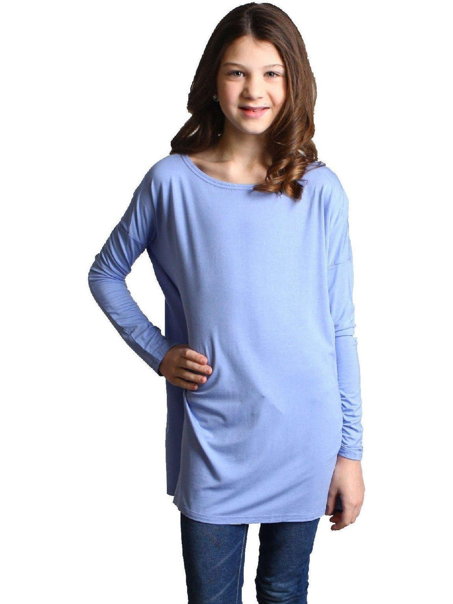 girls authentic long sleeve piko serenity