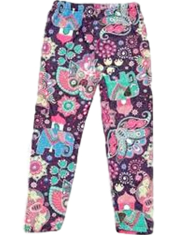 Girls Candyland Print Legging, Multi-GIRLS LEGGINGS-2NE1 APPAREL-Chic Boutique and Gift Emporium