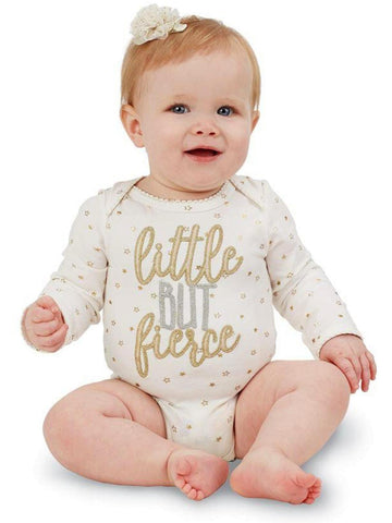 Mud Pie-Little but Fierce Crawler-MUDPIE INFANT GIRLS-Mud Pie-Chic Boutique and Gift Emporium