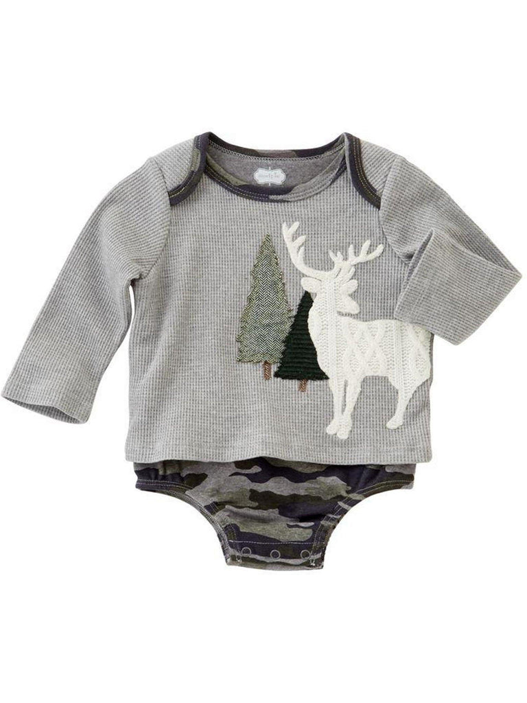 Mud Pie-Stag All in One Crawler-MUD PIE BABY BOYS-Mud Pie-Chic Boutique and Gift Emporium