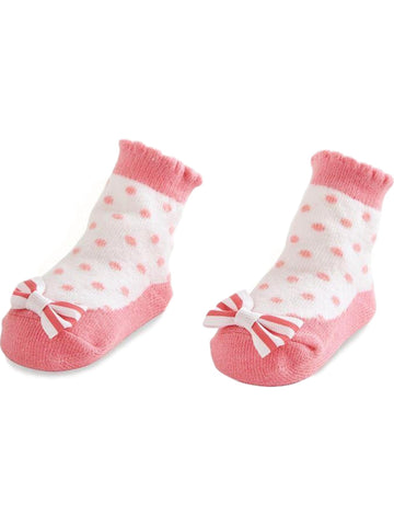 Mud Pie-Summer Fun Bow Socks, Multi-MUDPIE INFANT GIRLS-Mud Pie-0-12 Mth-Multi-Chic Boutique and Gift Emporium