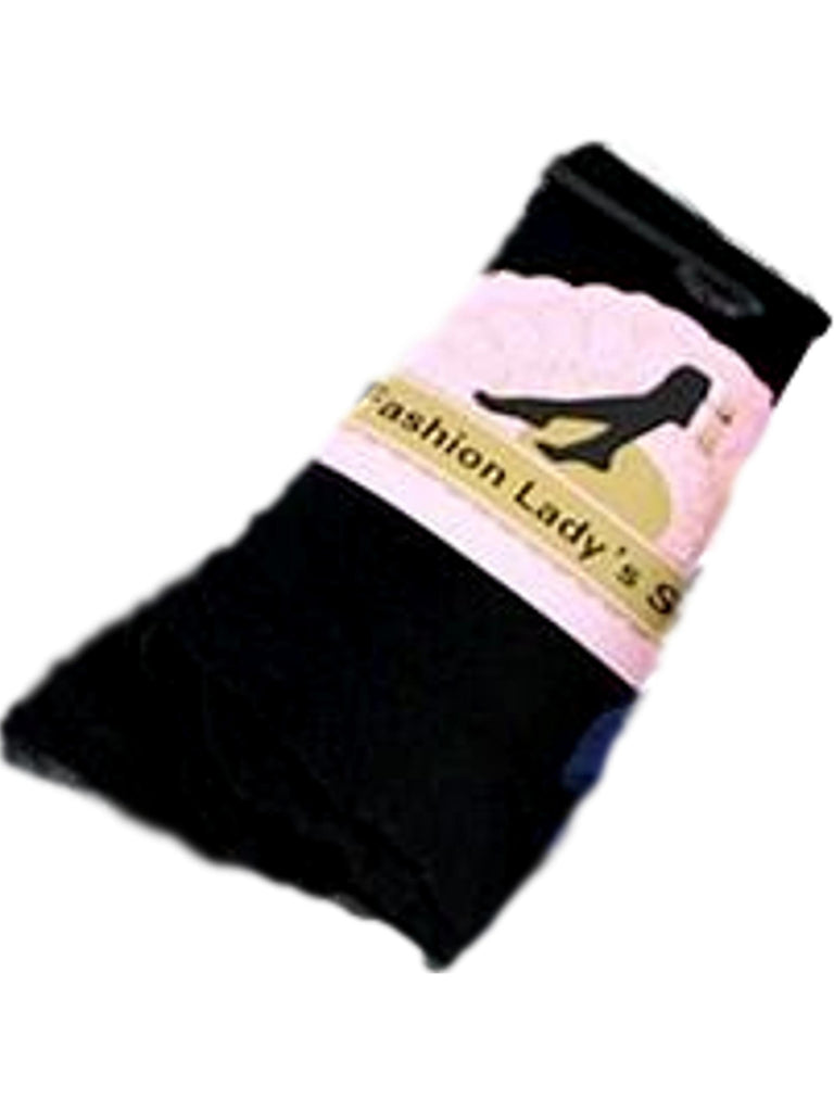 Over the Knee Boot Socks, Black-BOOT SOCKS-Funteeze-OS-Black-Chic Boutique and Gift Emporium