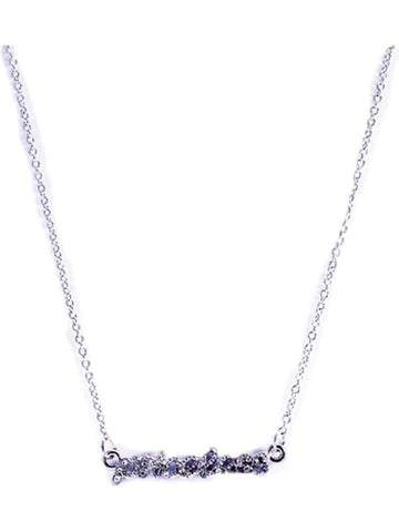 """PRICELESS "" Pendant NL, Silver-NECKLACES-Cool Cat Designers-OS-Silver-Chic Boutique and Gift Emporium"
