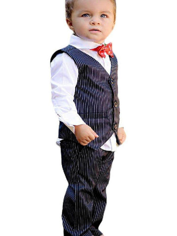 Rugged Butts-Boys Dress Pin Stripe Pants, Black-Flash Sale-Rugged Butts-Chic Boutique and Gift Emporium