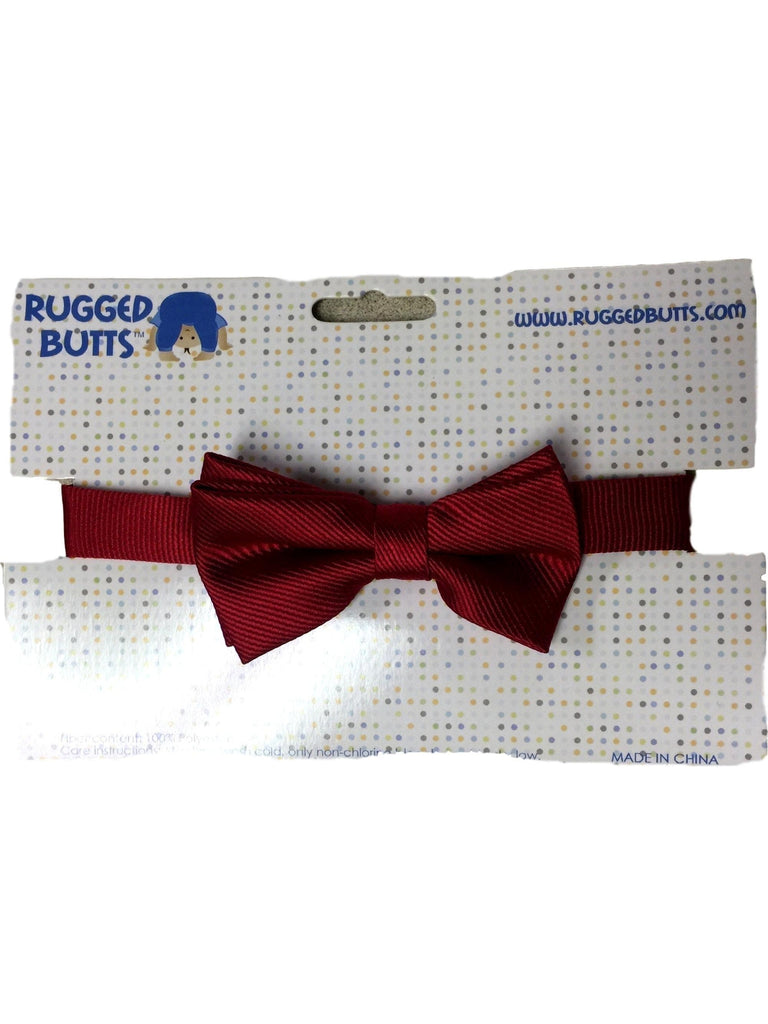 Rugged Butts-Ravishing in Red Bow Tie-BABY BOYS-Rugged Butts-OS-Red-Chic Boutique and Gift Emporium