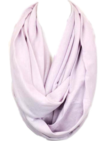 Soft Jersey Infinity, Lavender-SCARFS-Hana-OS-Lavender-Chic Boutique and Gift Emporium